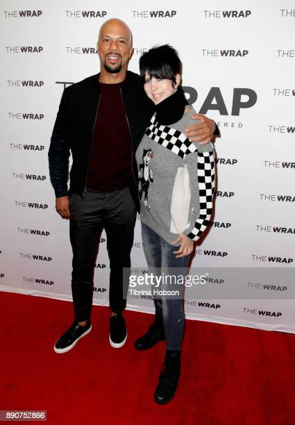 Common and Diane Warren attend TheWrap's 'Special Evening With 2018 Oscar Song Contenders' at AMC Century City 15 theater on December 11 2017 in...