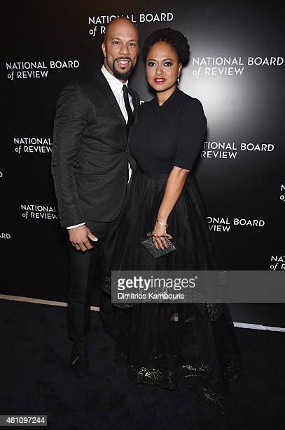 Common and Director Ava DuVernay attend the 2014 National Board of Review Gala at Cipriani 42nd Street on January 6 2015 in New York City