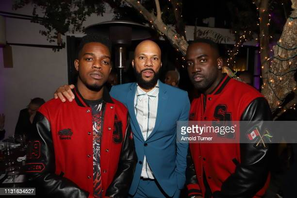 Common and Guests attend Common's 5th Annual Toast to the Arts at Ysabel on February 22 2019 in West Hollywood California