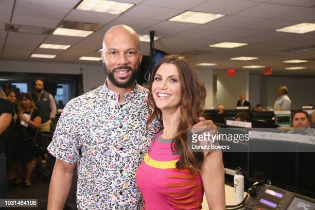 Common and Samantha Harris attend Annual Charity Day hosted by Cantor Fitzgerald BGC and GFI at BGC Partners INC on September 11 2018 in New York City