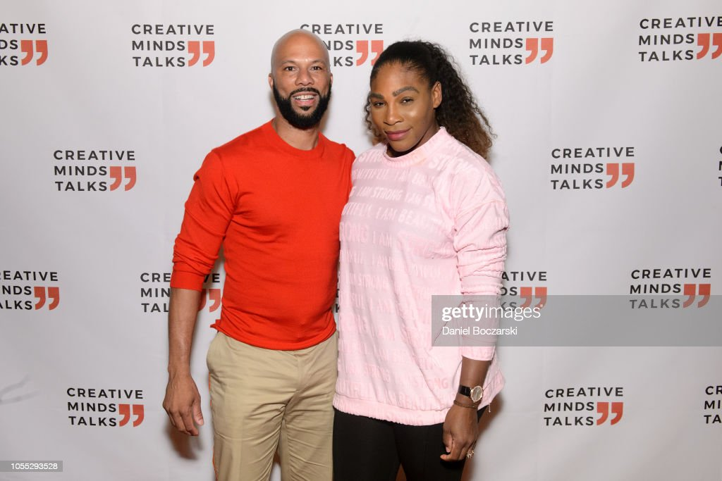 Creative Minds Talks With Common And Serena Williams : News Photo