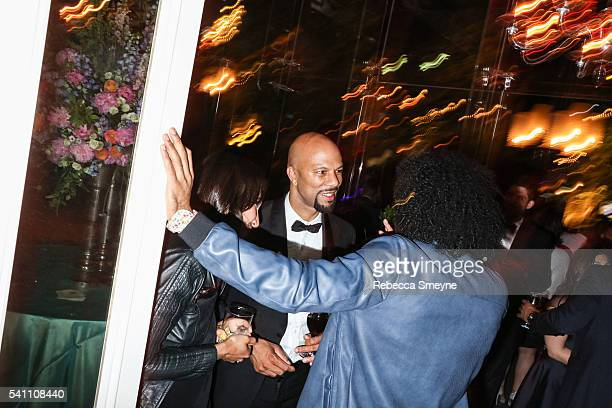 Common at the Hamilton afterparty for the Tony Awards at Tavern on the Green in New York NY on June 13 2016