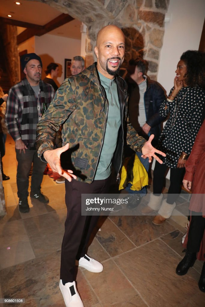 Common attends as The House of Remy Martin celebrates the APEX Social Club at the WanderLuxxe House with Common and Friends on January 21, 2018 in Park City, Utah.