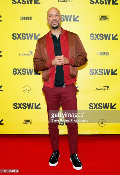 Common attends Featured Session The Chi during SXSW at Austin Convention Center on March 12 2018 in Austin Texas