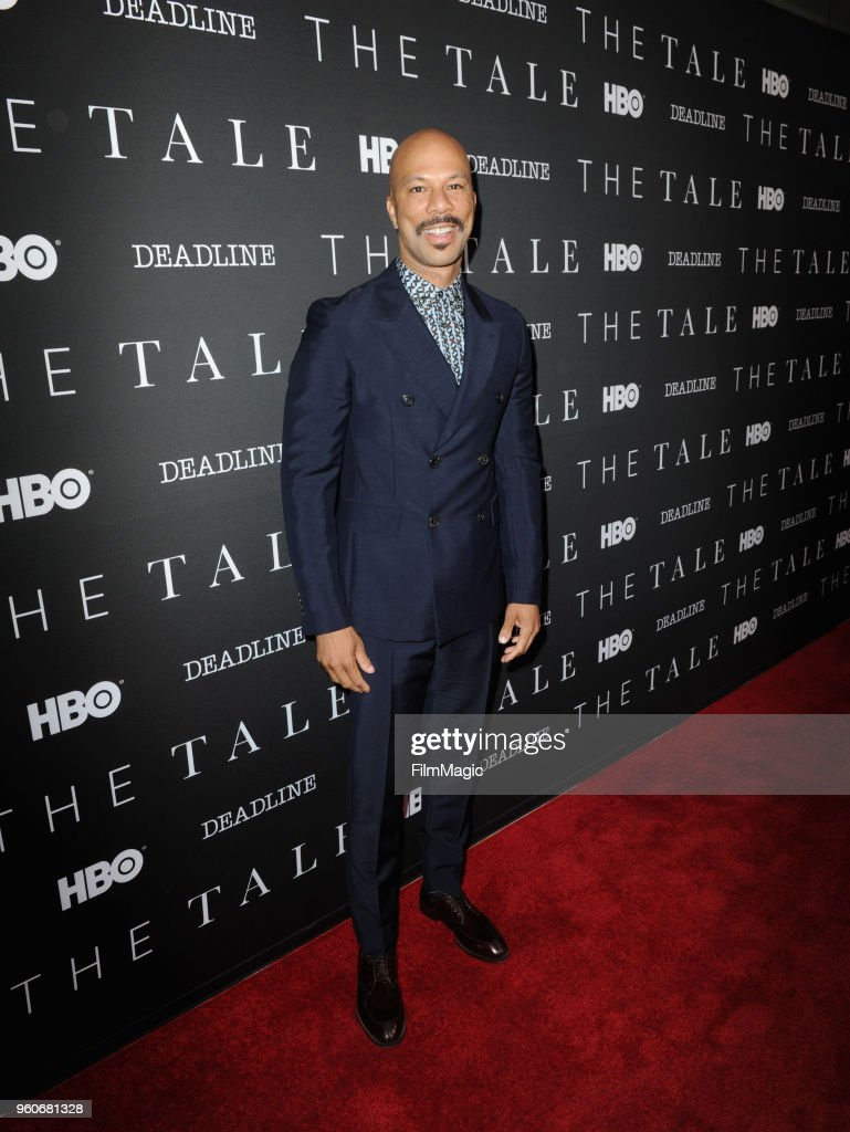 Common attends FYC Screening of HBO's Film THE TALE at the Landmark Theater on May 20, 2018 in Los Angeles, California.