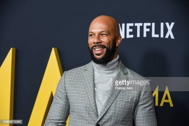 Common attends Los Angeles Premiere Of Alfonso Cuaron's Roma at American Cinematheque's Egyptian Theatre on December 10 2018 in Hollywood California