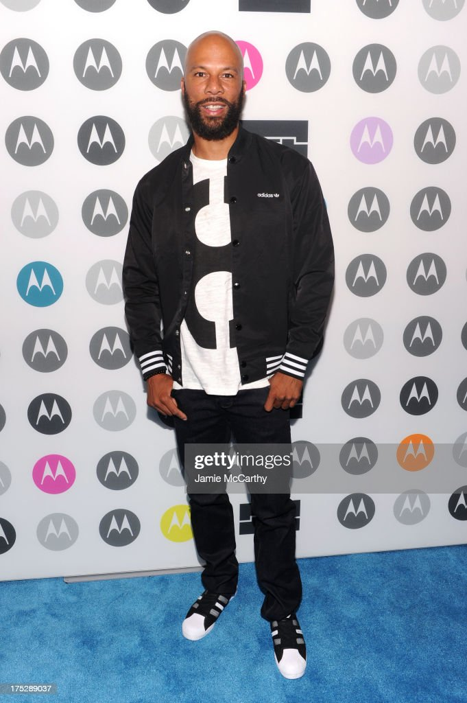 Common attends Moto X Launch Event on August 1, 2013 in New York City.