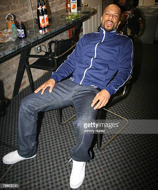 Common attends the 2008 NBA AllStar in New Orleans ESPN The Magazine's Chicken `N' Waffles event at Harrah's Hotel February 16 2008 in New Orleans...