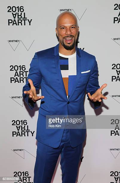 Common attends the 2016 Whitney Art Party at The Whitney Museum of American Art on November 15, 2016 in New York City.