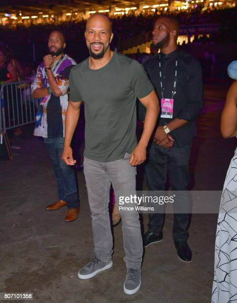 Common attends the 2017 ESSENCE Festival Presented by Coca Cola at the MercedesBenz Superdome on July 1 2017 in New Orleans Louisiana