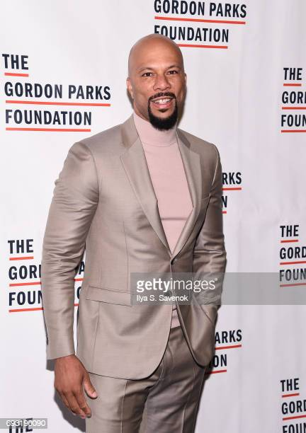 Common attends the 2017 Gordon Parks Foundation Awards Gala at Cipriani 42nd Street on June 6 2017 in New York City