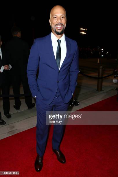 Common attends the 29th Annual Palm Springs International Film Festival Awards Gala at Palm Springs Convention Center on January 2 2018 in Palm...