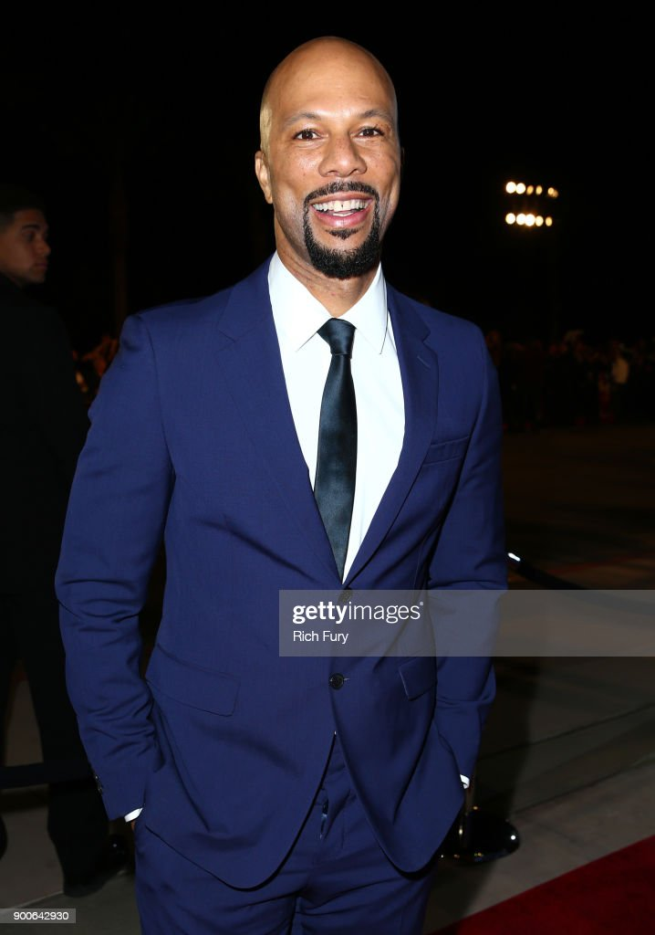Common attends the 29th Annual Palm Springs International Film Festival Awards Gala at Palm Springs Convention Center on January 2, 2018 in Palm Springs, California.