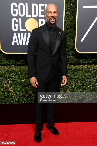 Common attends The 75th Annual Golden Globe Awards at The Beverly Hilton Hotel on January 7 2018 in Beverly Hills California