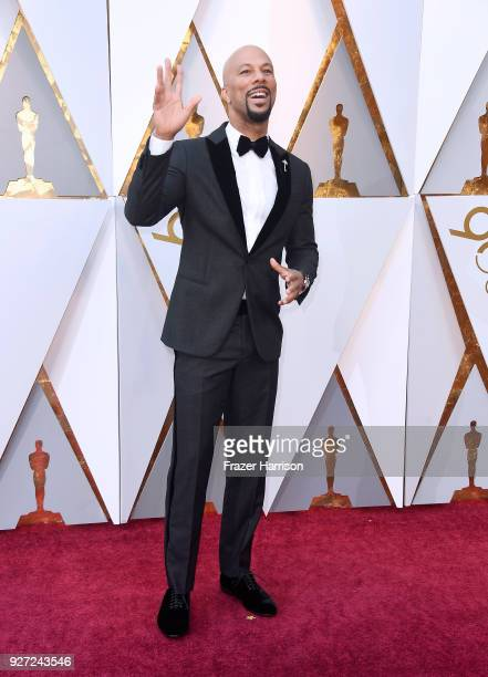 Common attends the 90th Annual Academy Awards at Hollywood Highland Center on March 4 2018 in Hollywood California