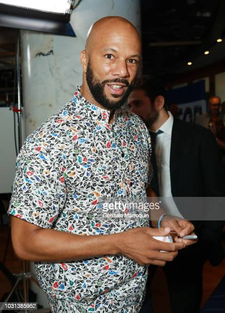 Common attends the Annual Charity Day hosted by Cantor Fitzgerald BGC and GFI at Cantor Fitzgerald on September 11 2018 in New York City