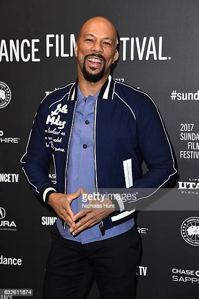Common attends the Burning Sands Premiere at Eccles Center Theatre on January 24 2017 in Park City Utah
