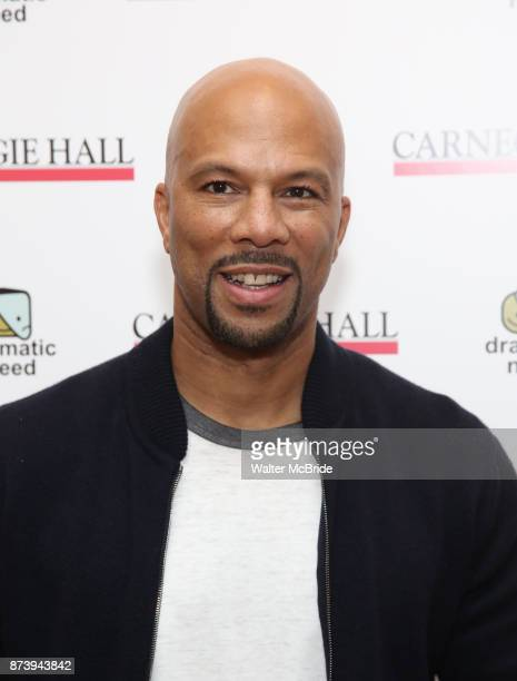 Common attends The Children's Monologues at Carnegie Hall on November 13 2017 in New York City