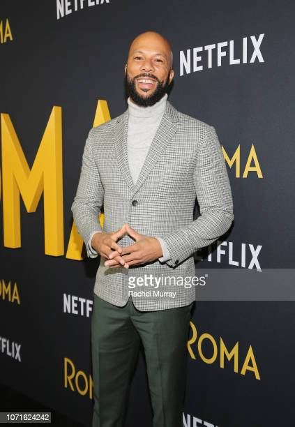 Common attends the Netflix Roma Premiere at the Egyptian Theatre on December 10 2018 in Hollywood California