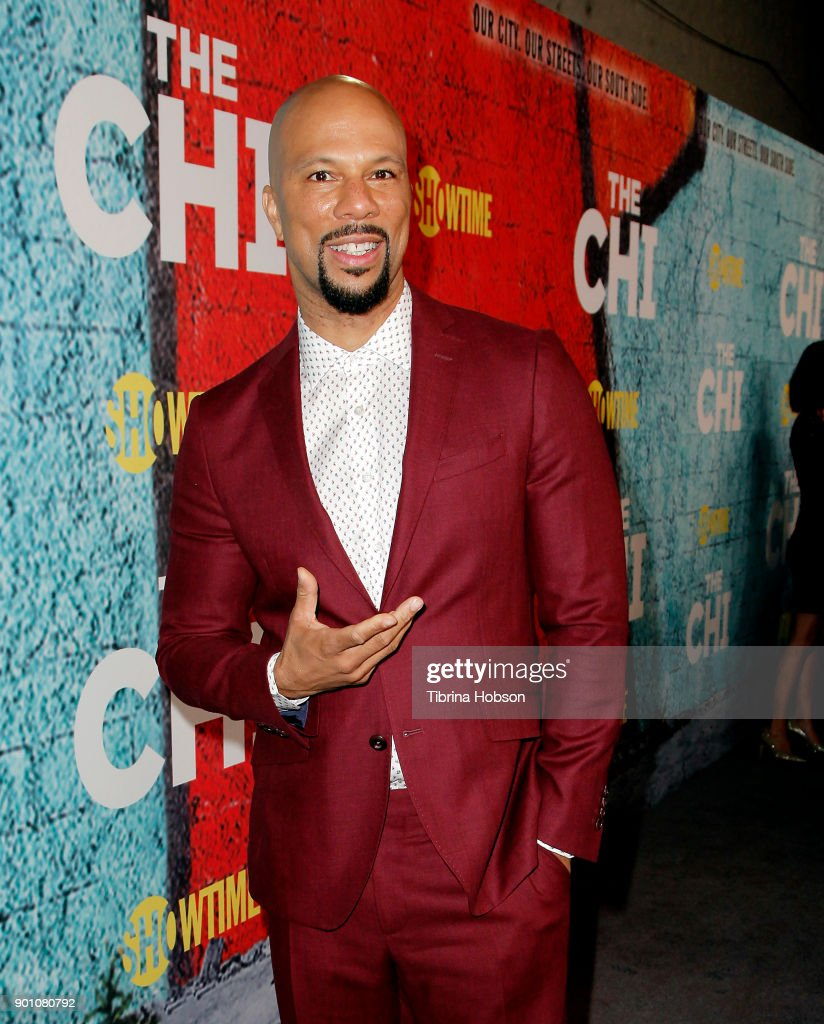 Common attends the premiere of Showtime's 'The Chi' at Downtown Independent on January 3, 2018 in Los Angeles, California.