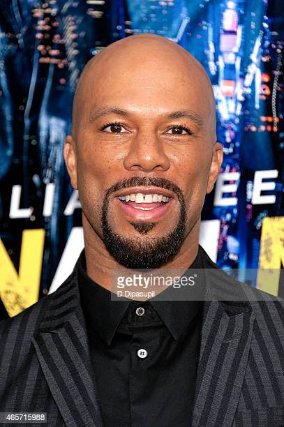 Common attends the Run All Night New York Premiere at AMC Lincoln Square Theater on March 9 2015 in New York City