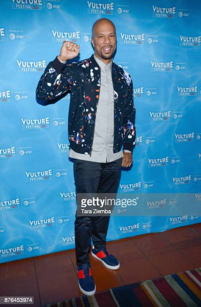 Common attends Vulture Festival Los Angeles at Hollywood Roosevelt Hotel on November 19 2017 in Hollywood California