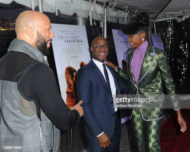 Common Barry Jenkins and KiKi Layne arrive at Los Angeles Special Screening Of Annapurna's If Beale Street Could Talk on December 4 2018 in Los...