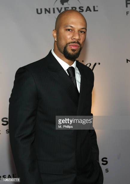 Common during Focus Features and Universal's 2007 Golden Globe After Party - Arrivals at Beverly Hilton in Los Angeles, California, United States.