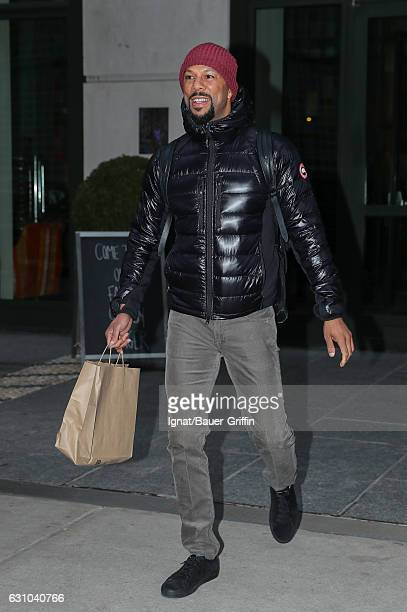 Common is seen on January 05 2017 in New York City