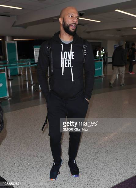 Common is seen on January 25 2019 in Los Angeles California