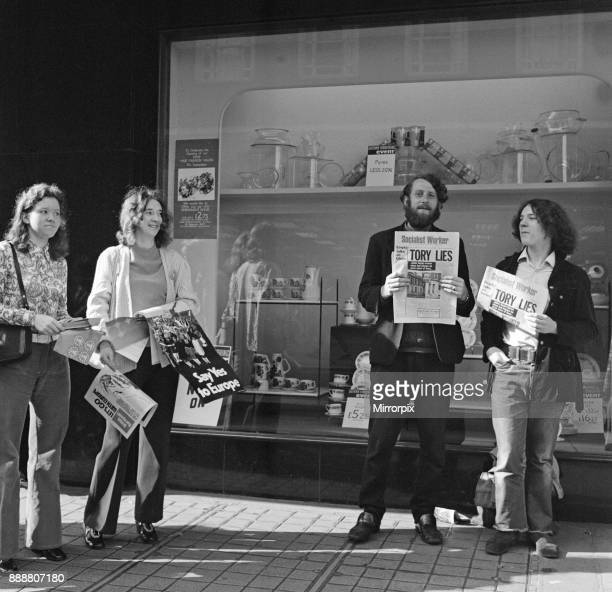 Common Market campaign in Middlesbrough Town Centre 1971