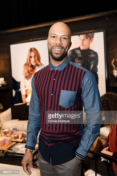 Common of 'Being Charlie' attends the Guess Portrait Studio at the Toronto International Film Festival on September 14 2015 in Toronto Canada