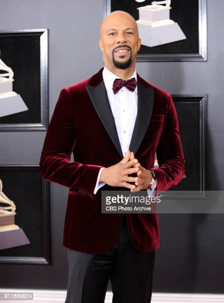 Common on the red carpet at THE 60TH ANNUAL GRAMMY AWARDS broadcast live on both coasts from New York City's Madison Square Garden on Sunday Jan 28...
