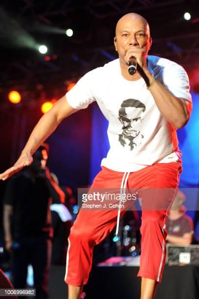 Common performs at Paul Brown Stadium on July 28, 2018 in Cincinnati, Ohio.