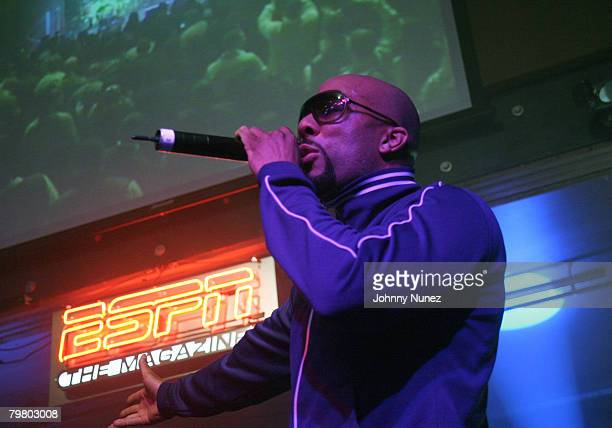 Common performs at the 2008 NBA AllStar in New Orleans ESPN The Magazine's Chicken `N' Waffles event at Harrah's Hotel February 16 2008 in New...