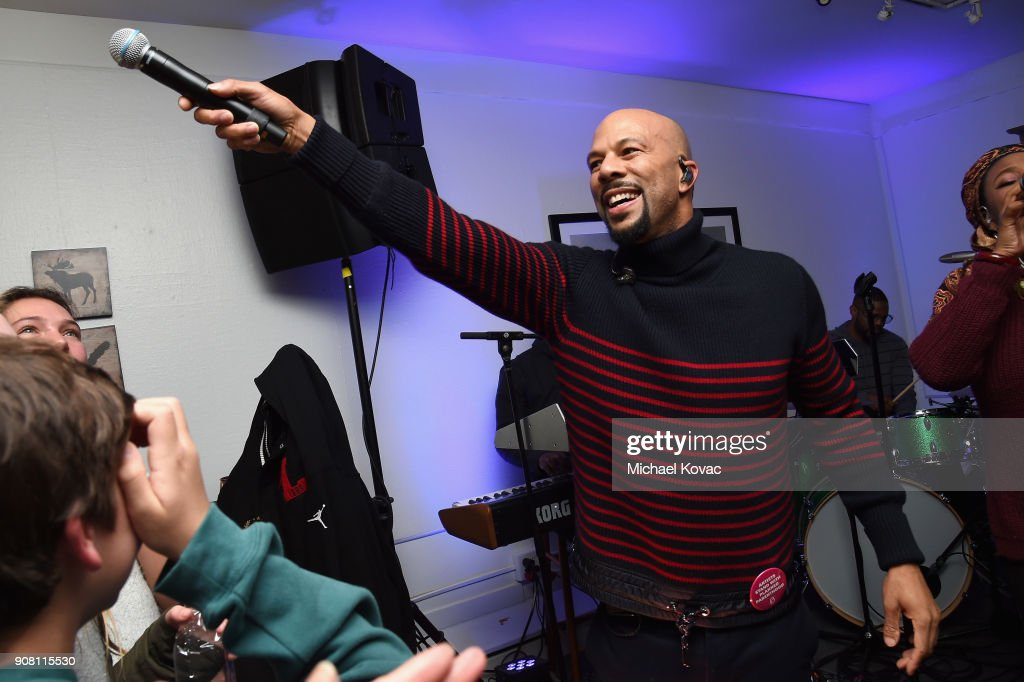 Common performs at the 'The Tale' After Party at Sundance Film Festival 2018 at The Grey Goose Blue Door on January 20, 2018 in Park City, Utah.