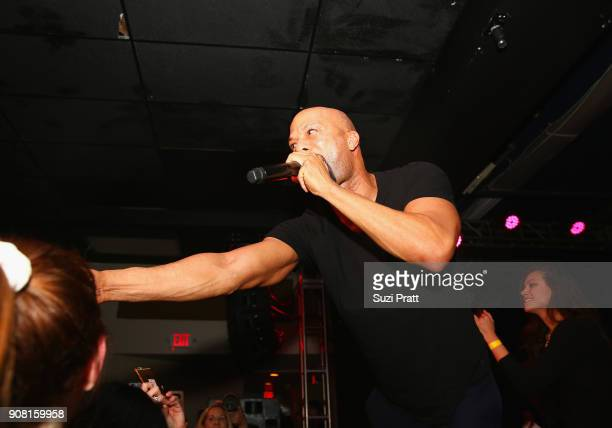 Common performs during CNN And The Hollywood Reporter's celebration of 5 Years of CNN Films at OP Rockwell on January 20 2018 in Park City Utah