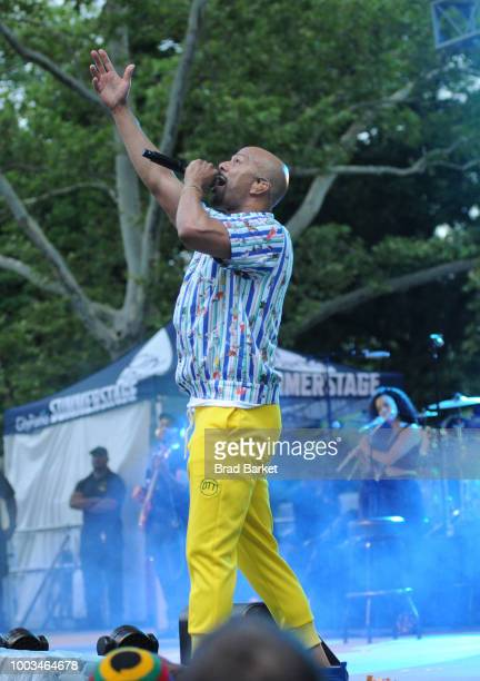 Common performs onstage during OZY Fest 2018 at Rumsey Playfield Central Park on July 21 2018 in New York City