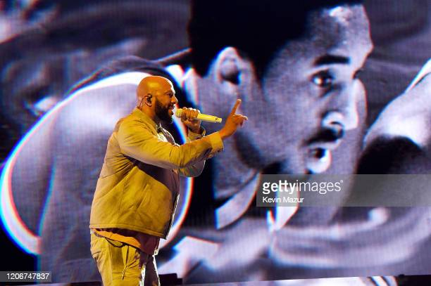 Common performs onstage during the 69th NBA All-Star Game at United Center on February 16, 2020 in Chicago, Illinois.