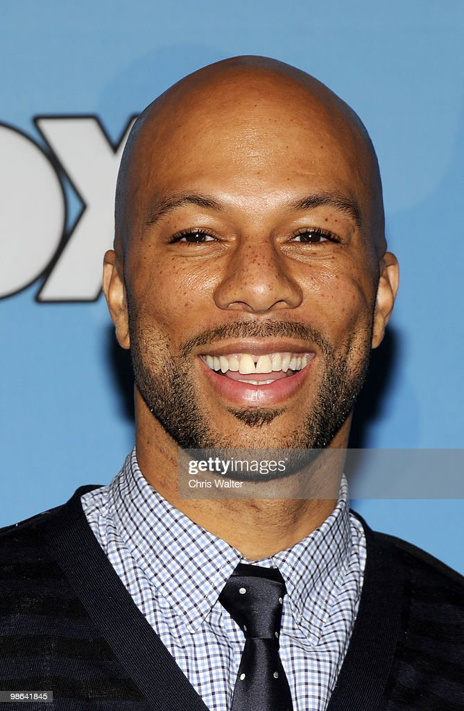 Common poses in the press room at Idol Gives Back at Pasadena Civic Center on April 21, 2010 in Pasadena, California.