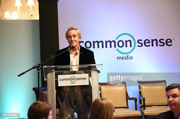 Common Sense Media CEO James 'Jim' Steyer attends MeanSpirited by Mistake Raising Caring Kids in a Digital World Common Sense Media Luncheon and...