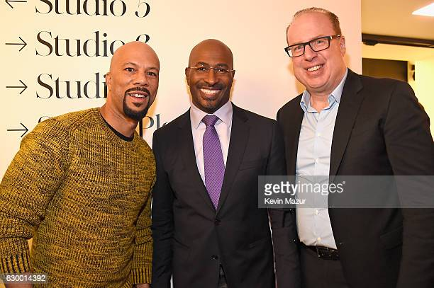 Common Van Jones and Def Jam CEO Steve Bartels attend The 2016 Def Jam Holiday Party sponsored by VH1 'The Breaks' Champs Sports Tanqueray 10 Zacapa...
