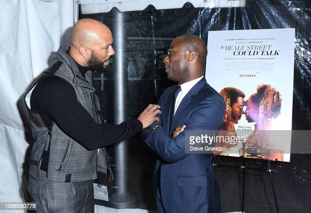 CommonBarry Jenkins arrives at the Los Angeles Special Screening Of If Beale Street Could Talk at ArcLight Hollywood on December 4 2018 in Hollywood...