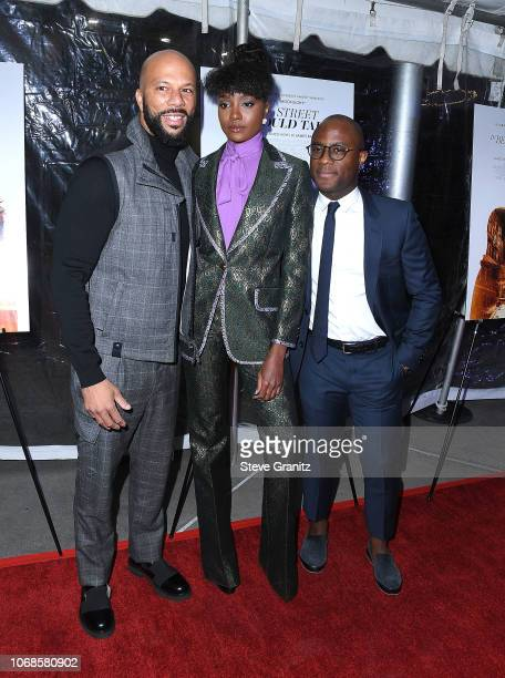 CommonKiki LayneBarry Jenkins arrives at the Los Angeles Special Screening Of If Beale Street Could Talk at ArcLight Hollywood on December 4 2018 in...