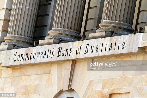 Commonwealth Bank of Australia sign