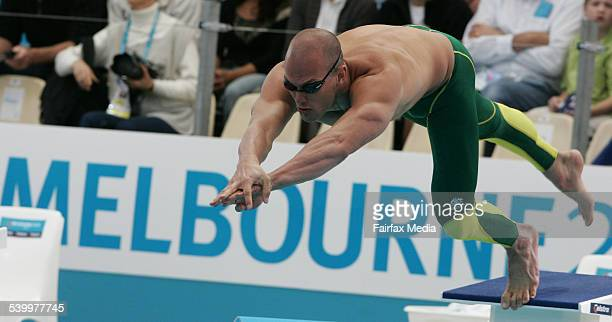 Commonwealth Games 2006 Australia's Ashley Callus swimming in the Men's 250m freestyle heat at the Melbourne Commonwealth Games 20 March 2006