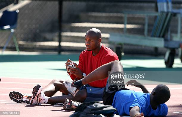 Commonwealth Games 2006 The fastest man in the world Asafa Powell arrived in Melbourne this morning He was at Olympic Park this afternoon with the...