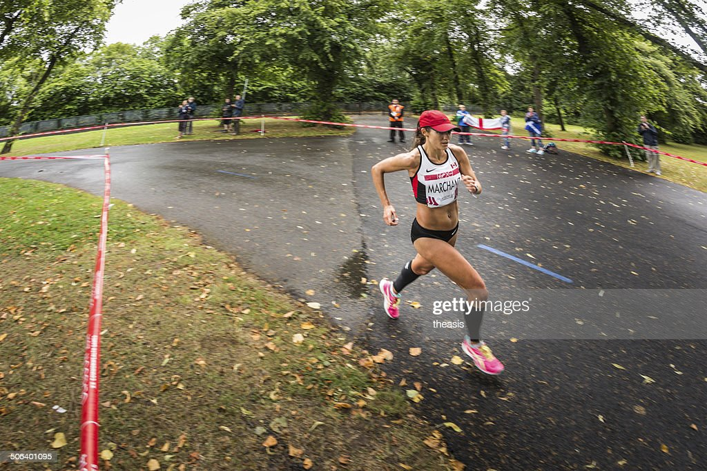 Commonwealth Games Marathon : Stock Photo