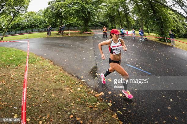 giochi del commonwealth maratona - theasis foto e immagini stock