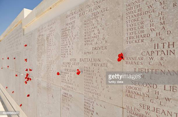 commonwealth military cemetary - anzac day stock pictures, royalty-free photos & images